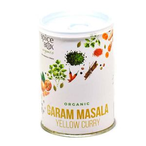 有機 印度風 Garam Masala Yellow Curry輕辣香料粉