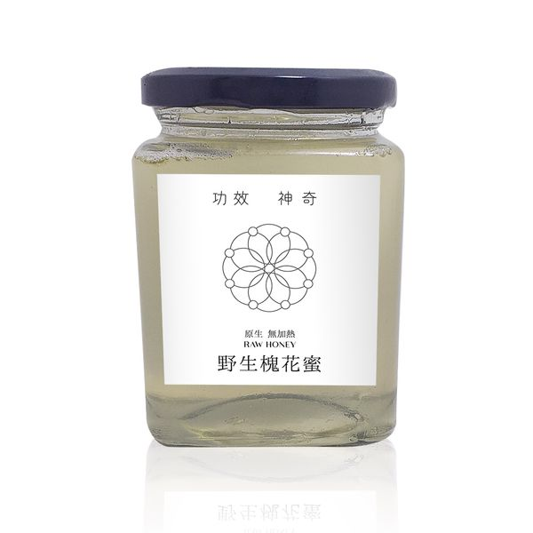 Wild Pagoda Flower Raw Honey